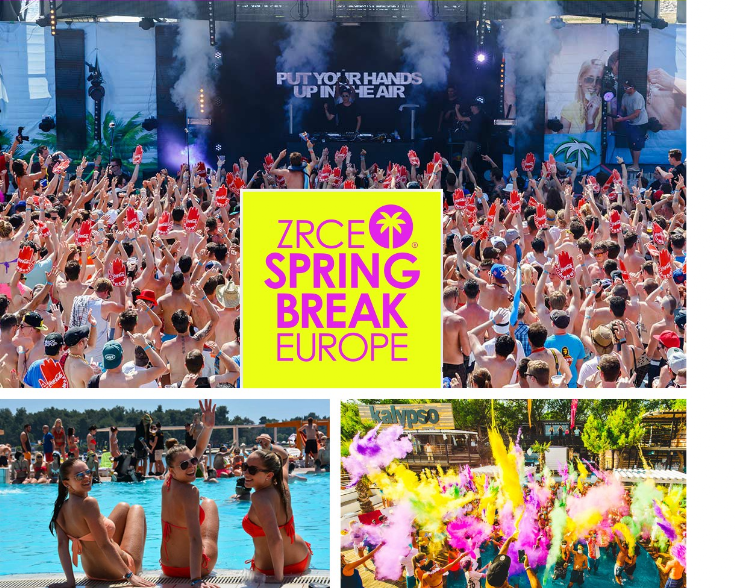 Zrce Spring Break 2018 - Camar-Tours